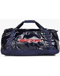 Patagonia Screen-printed Travel Bag Classic Navy - Blue