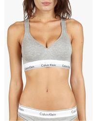 Calvin Klein Bralette - Modern Cotton - Grey