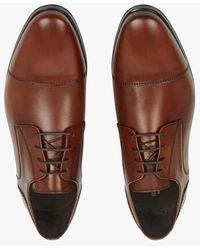 Minelli Chaussures de ville en cuir cognac - Marron
