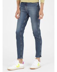 Acquaverde - Slim-fit Jeans With Regular Waist - Lyst