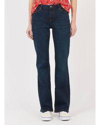 Esprit Jean bootcut 5 poches blue dark wash - Bleu