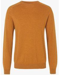 Samsøe & Samsøe - Regular-fit Round-neck Lambswool Mix Sweater - Lyst