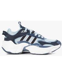 adidas Magmur runner gricen/noiess/enctec - Bleu