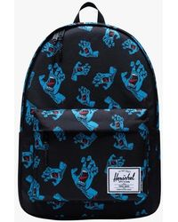 Herschel Supply Co. Mochila con cremallera y estampado x santa cruz - Negro