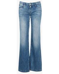 Le Temps Des Cerises Jean boot cut blue - Bleu