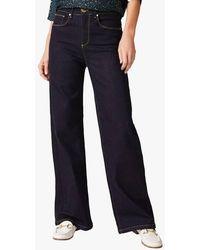 Phase Eight Raw denim bootcut-jeans mit 5 taschen - Blau