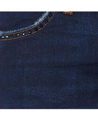 Liu Jo Vaquero slim de talle alto - Azul