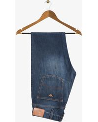 Armani Mid Washed Jeans Blue