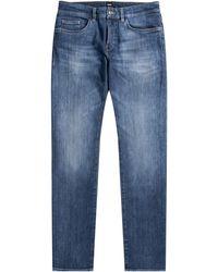 BOSS by Hugo Boss Delaware3 Cashmere Soft Jean Medium Blue