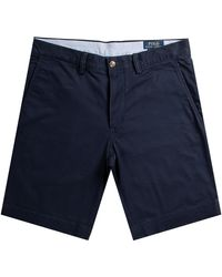 Polo Ralph Lauren Stretch Classic Fit Chino Shorts Navy - Blue