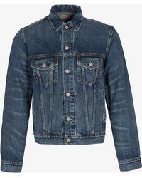 Ralph Lauren - Full Button Denim Jacket Blue - Lyst