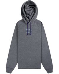 Acne Studios Video Print Hooded Sweatshirt Grey