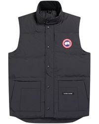 Canada Goose Freestyle Crew Padded Shell Gilet - Blue