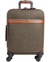 Mulberry 'scotchgrain' Travel Luggage Mole Cognac - Multicolor