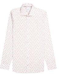 Eton of Sweden Flamingo Ice Cream Shirt White