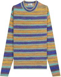 Acne Studios 'nosti Seasonal' Stripe Sweater - Blue