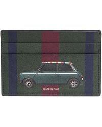 Paul Smith Mini Stripe Card Wallet Black