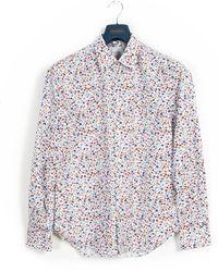 Paul Smith 'floral Music' Shirt - Multicolour
