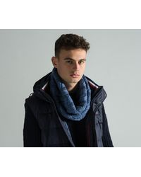Paul & Shark - 'fisherman Collection' Cable Knit Snood Blue - Lyst