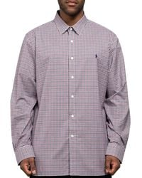 Polo Ralph Lauren Classic Gingham Check Shirt Brown/red - Multicolour