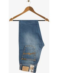 Nudie Jeans - Organic Steady Eddie Sixteen Months Jeans Blue - Lyst