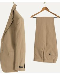 Paul Smith - Tailored Cotton & Linen Suit Beige - Lyst
