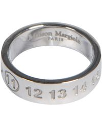 Maison Margiela Silver Ring - Metallic