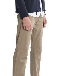 Emporio Armani Slim Fit 'coloredenim' 5 Pocket Chino Dark Beige - Natural