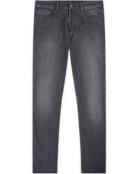 Emporio Armani J06 Lightweight Mid Grey Jean