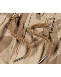 Moncler 'pantalone' Bermuda Shorts Camo - Natural