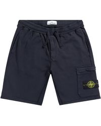 Stone Island Sweat Short Navy - Blue
