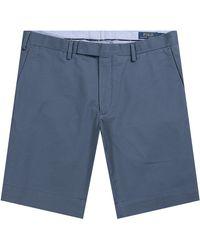 Ralph Lauren - Slim Fit Chino Short Blue - Lyst