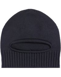 Stone Island Shadow Project Balaclava Beanie Navy - Blue