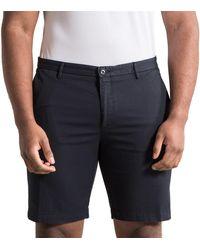 BOSS by Hugo Boss 'riceshort3-d' Slim Fit Tailored Shorts Navy - Blue