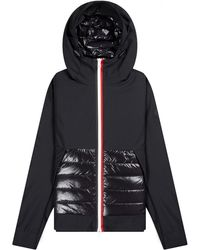 Moncler - Authion Hooded Jacket Black - Lyst