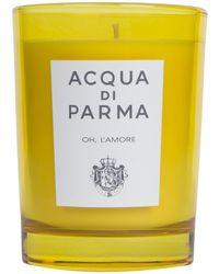 Acqua Di Parma Oh, Lamore Scented Candle 200g - Multicolour