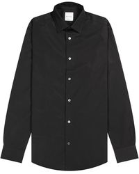 Pockets Paul Smith 'poplin' Formal Slim-fit Shirt Black