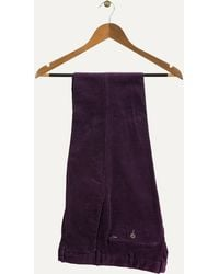 Ralph Lauren | Slim Fit Stretch Cords Winter Purple | Lyst
