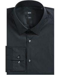 BOSS 'isko' Formal Shirt Black