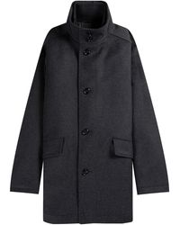 BOSS by Hugo Boss 'coxtan 8' Coat Charcoal - Multicolour
