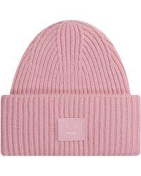 Acne Studios Beanie Blush Pink