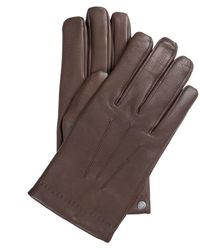 Mulberry Soft Nappa Gloves Brown