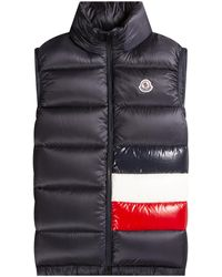 Moncler - 'sovex' Down Gilet Navy - Lyst