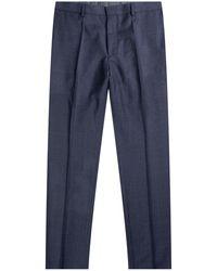 HUGO 'giro5' Flannel Slim Fit Trouser Navy - Blue