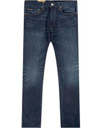 Polo Ralph Lauren 'sullivan Slim Vintage Wash Jean Blue