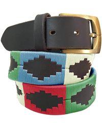 Carlos Diaz Las Heras - Classic Polo Belt - Multicolor