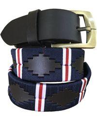 Carlos Diaz Sarandí - Classic Polo Belt - Black