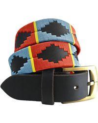 Carlos Diaz Río Salí - Classic Polo Belt - Multicolor