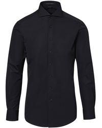 Porsche Design Business Shirt Slim Fit - Schwarz