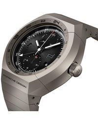 Porsche Design MONOBLOC ACTUATOR GMT-Chronotimer All Titanium - Schwarz